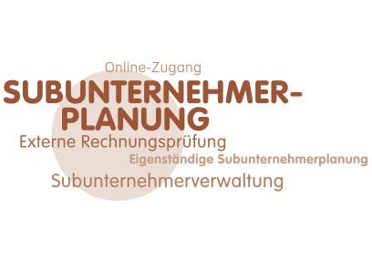 subunternehmer-planung